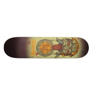The Watcher #1 - Green 18.1 Cm Old School Skateboard Deck