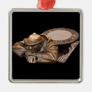 The Watcher Metal Ornament