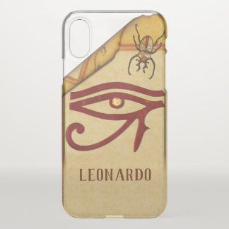 The Watchers Egyptian 3D Optical PERSONALIZE iPhone X Case
