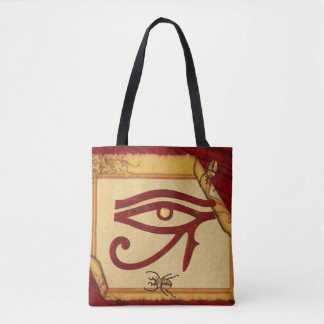 The Watchers Egyptian 3D Optical Tote Bag