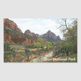 The Watchman Rectangular Sticker