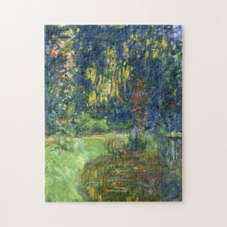 The Water Lily Pond at Giverny - Claude Monet Jigsaw Puzzle
