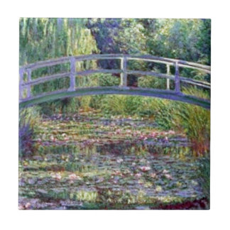 The Water Lily Pond by Claude Monet Ceramic Tile