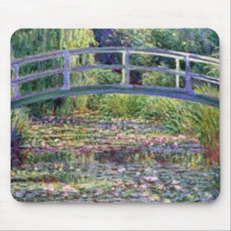 The Water Lily Pond by Claude Monet Mousepads