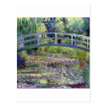 The Water Lily Pond by Claude Monet Post Card