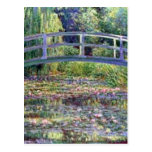 The Water Lily Pond by Claude Monet Post Cards