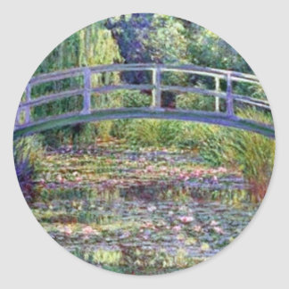 The Water Lily Pond by Claude Monet Stickers