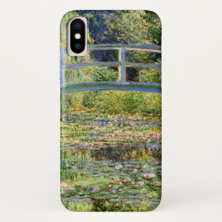 The Water-Lily Pond by Monet Fine Art iPhone X Case