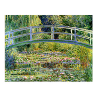 The Water-Lily Pond by Monet Fine Art Postcard