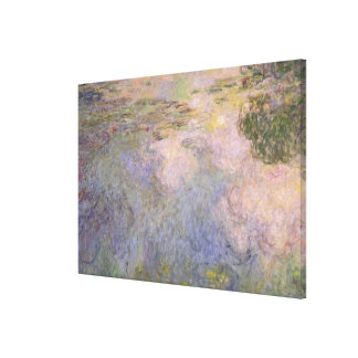The Water-Lily Pond Canvas Print