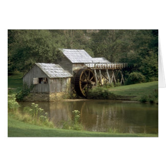 The Water Mill Card