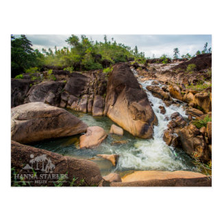 The Waterfall at Mountain Pine Ridge Postcard