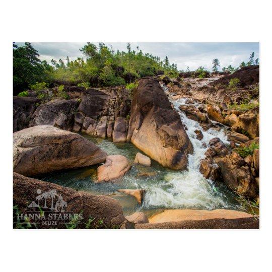 The Waterfall at Mountain Pine Ridge Postcard