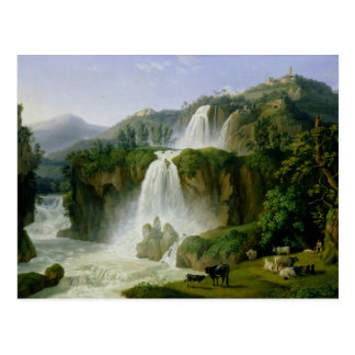 The Waterfall at Tivoli, 1785 Postcard