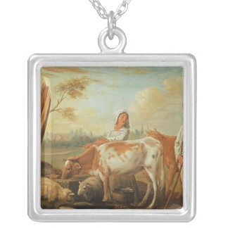 The Watering Hole Silver Plated Necklace