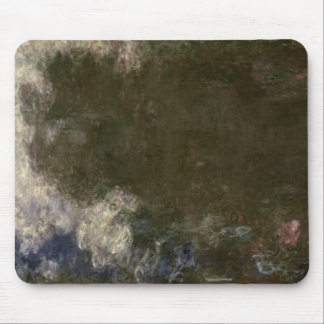 The Waterlilies - The Clouds , 1914-18 Mouse Pad