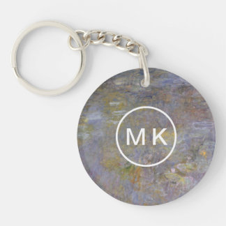 The WaterLily Pond Key Ring