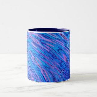 the wave Two-Tone coffee mug
