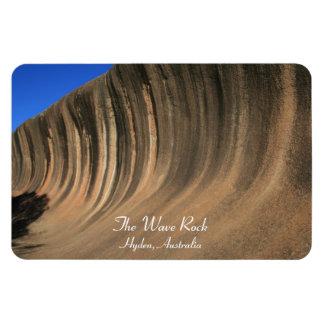 The Wave Rock Hyden Australia - Magnet