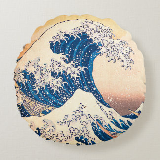 The Wave Round Cushion