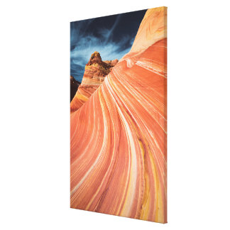 The wave, vermilion cliffs, Arizona Canvas Print