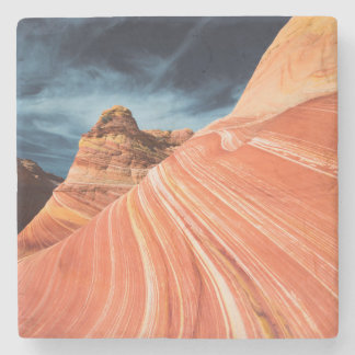 The wave, vermilion cliffs, Arizona Stone Coaster