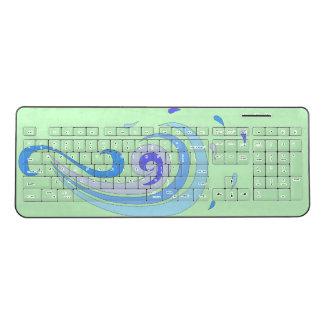 The Wave Wireless Keyboard