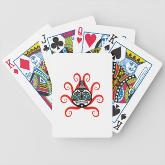 tHE WAVES FORMED Bicycle Playing Cards