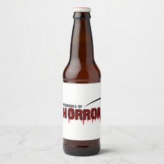 The Waxworks of Horror Beer Bottle Label