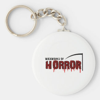 The Waxworks of Horror Key Ring