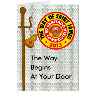 The Way of Saint James 2013 Card