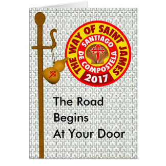 The Way of Saint James 2017 Card