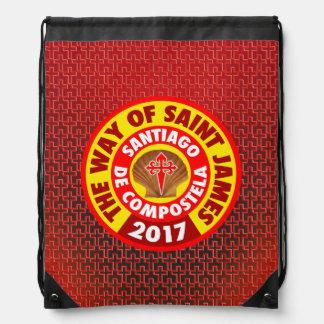 The Way of Saint James 2017 Drawstring Bag