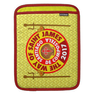 The Way of Saint James 2017 iPad Sleeve