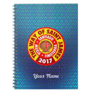 The Way of Saint James 2017 Notebook