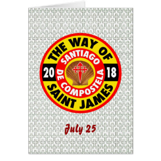 The Way of Saint James 2018 Card