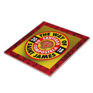 The Way of Saint James 2018 Ceramic Tile