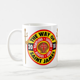 The Way of Saint James 2018 Coffee Mug