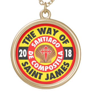 The Way of Saint James 2018 Gold Plated Necklace
