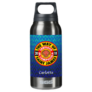 The Way of Saint James 2018 Insulated Water Bottle