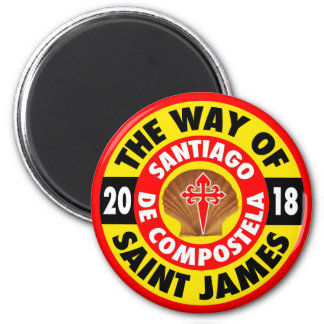 The Way of Saint James 2018 Magnet