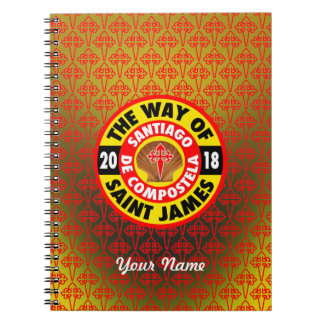 The Way of Saint James 2018 Notebooks