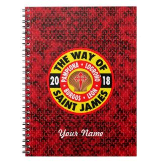 The Way of Saint James 2018 Notebooks