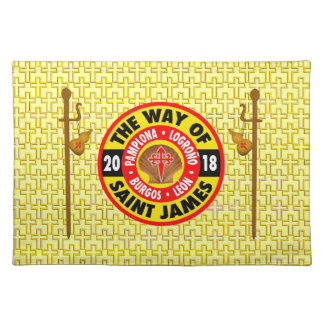 The Way of Saint James 2018 Placemat