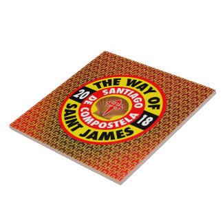 The Way of Saint James 2018 Tile
