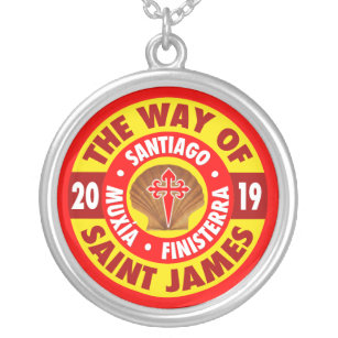 The Way of Saint James 2019 Silver Plated Necklace