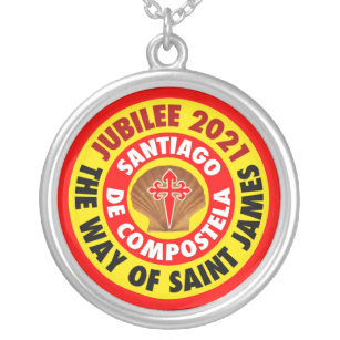 The Way of Saint James 2021 Silver Plated Necklace