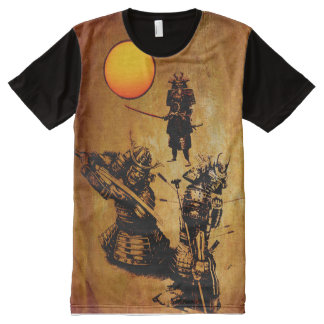 THE WAY  OF THE SAMURAI All-Over PRINT T-Shirt