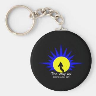 The Way Up Logo Key Chain