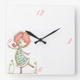 The Way You Move - Wall Clock